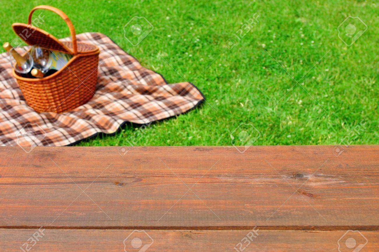 Picnic Table Background Picnic Table At The Park Stock Photos & Picturesroyalty Free