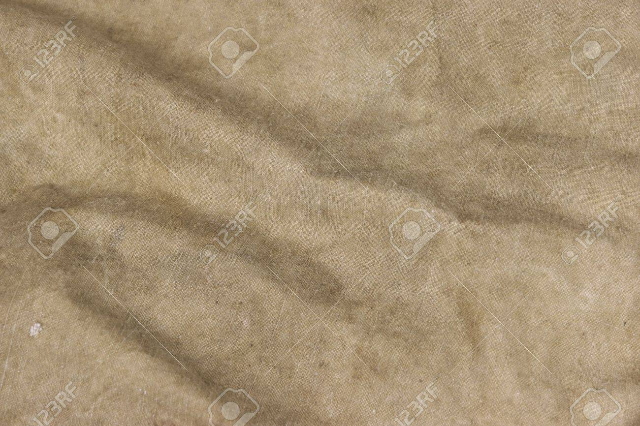 Old Faded Military Army Camouflage Backpack Or Bag Or Uniform Horizontal Background Texture Close-up Top View - 51563541