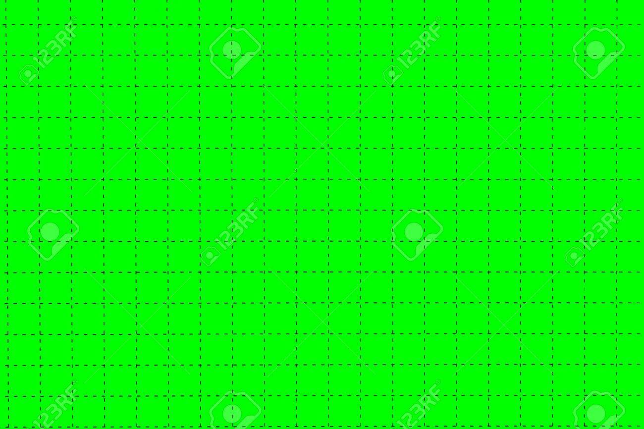 green magnetic plastic board with dotted black checkered lines