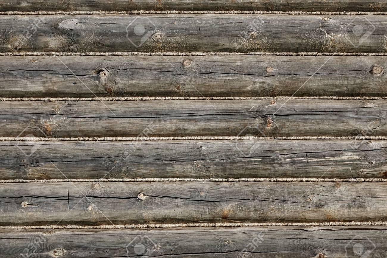 Old Hand Hewn Natural Log Cabin Wall Facade Fragment Texture Stock Photo Picture And Royalty Free Image Image 68716181