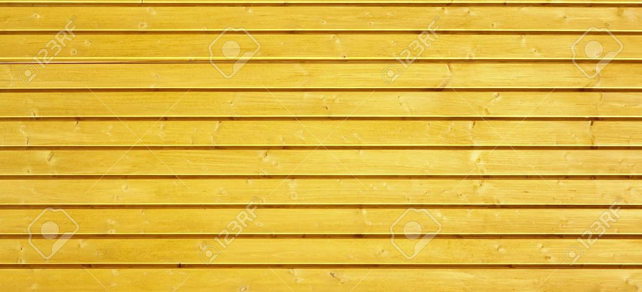 Painted Yellow Wood Shabby Background. Yellow Wooden Barn Wall ...
