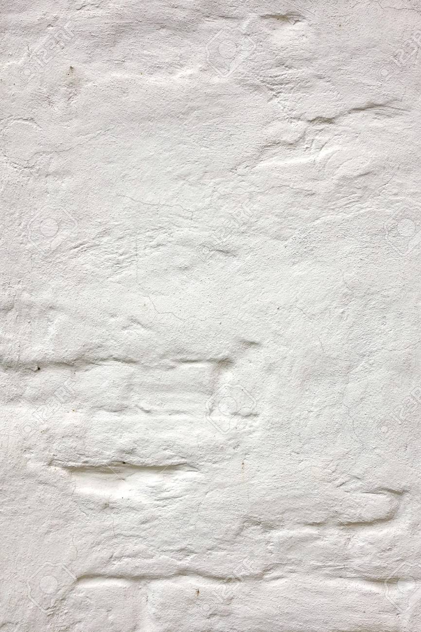 White Rustic Vertical Texture Urban Washed Old Brick Wall Vintage Plaster Structure