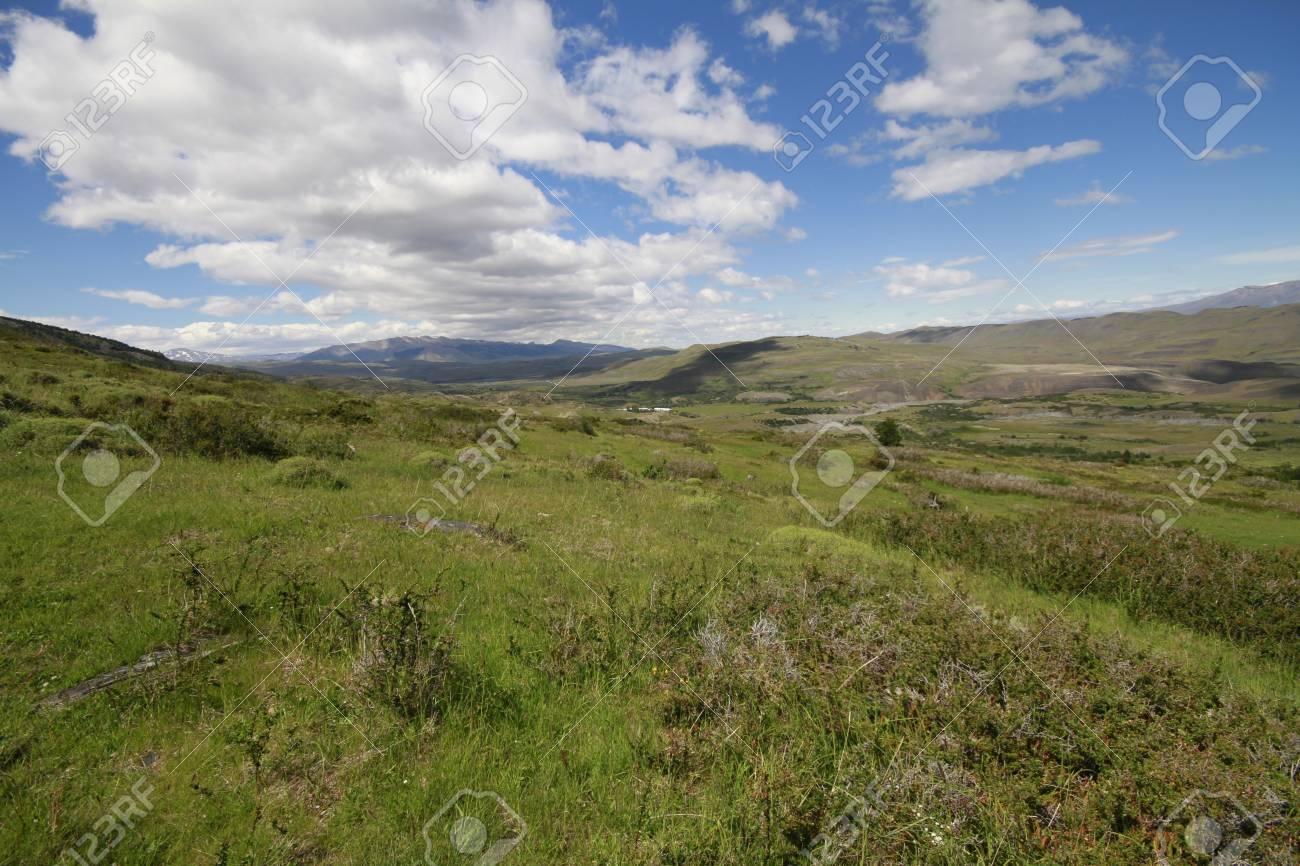 W Trek on Torres Del Paine Park Stock Photo - 17068023