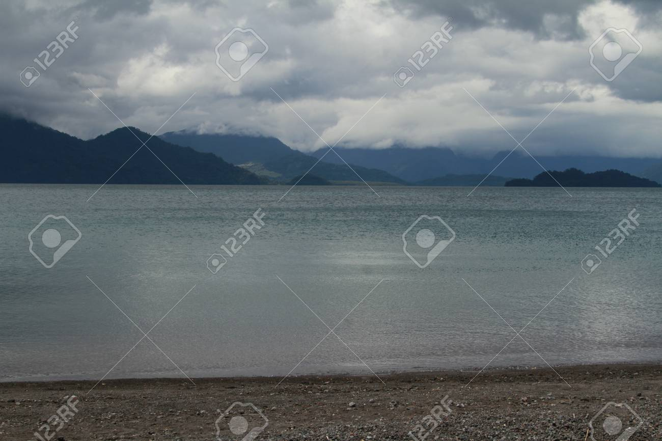 Todos los santos lake Stock Photo - 17563095