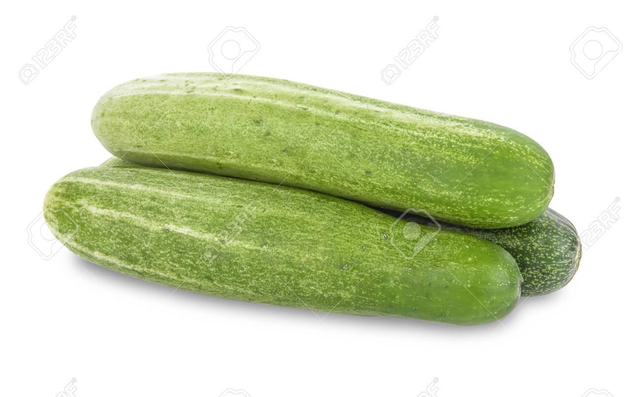cucumber isolated on white background - 144554028