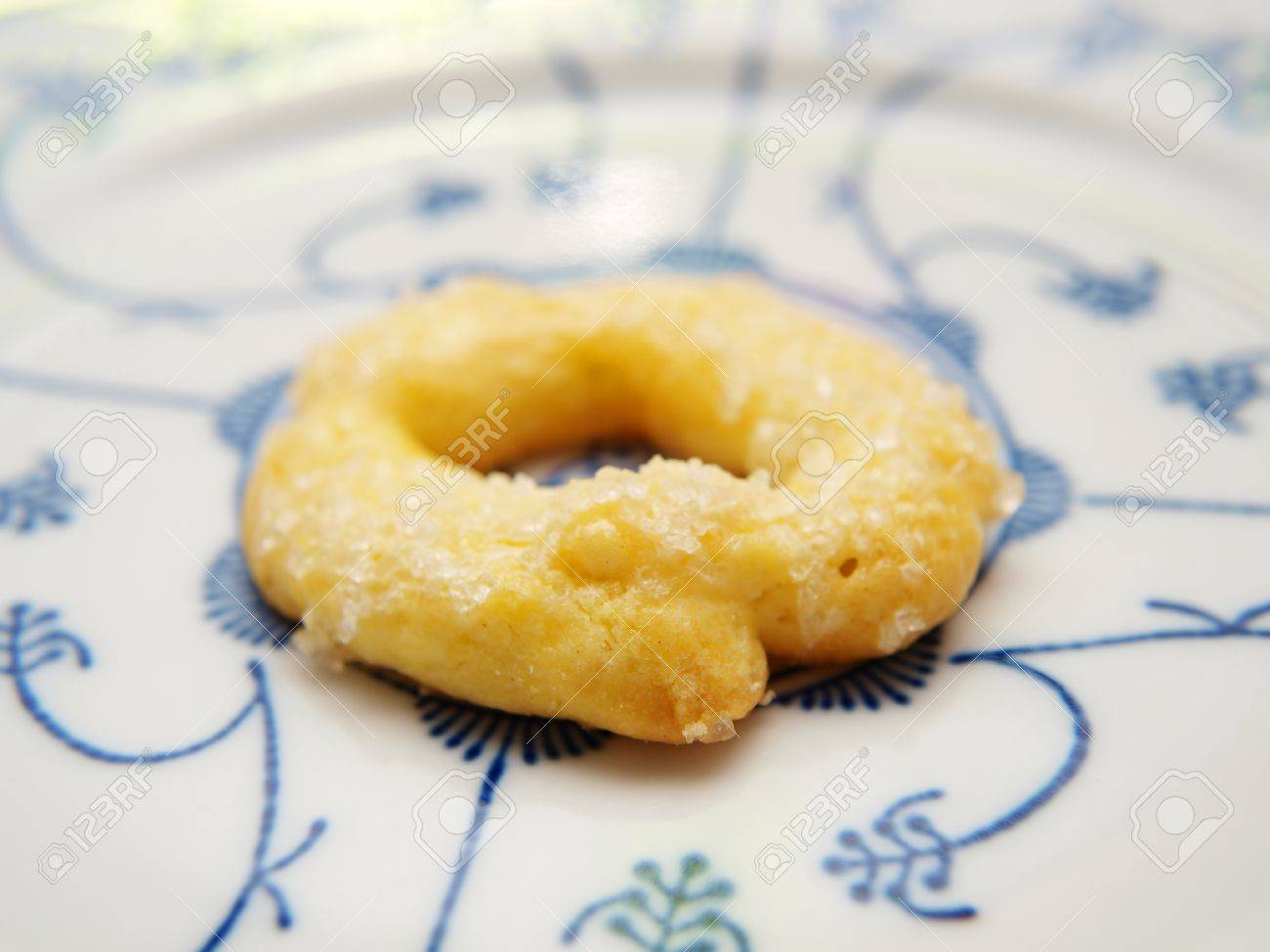 Berlinerkrans Old Norwegian Christmas Cookie Tradition Isolated