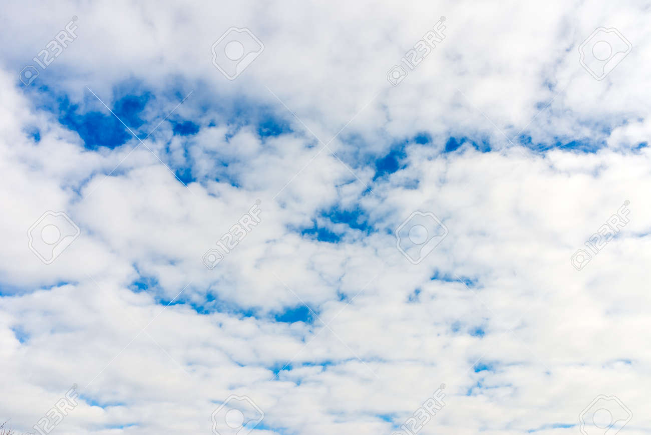 Cloud and blue skay background.Dramatic nice white clouds on a blue heaven. - 164954059