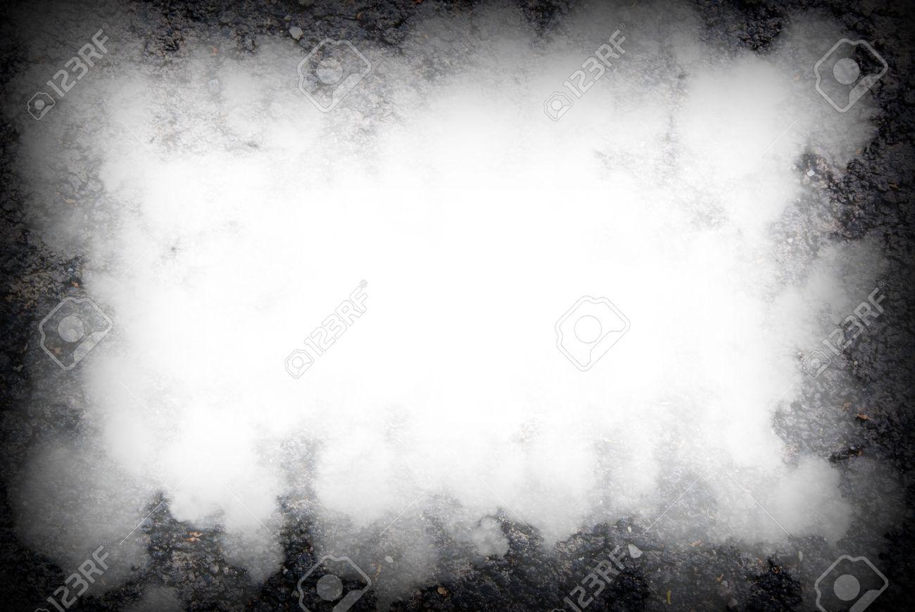 abstract black background, old black vignette border frame white gray background, - 38620395