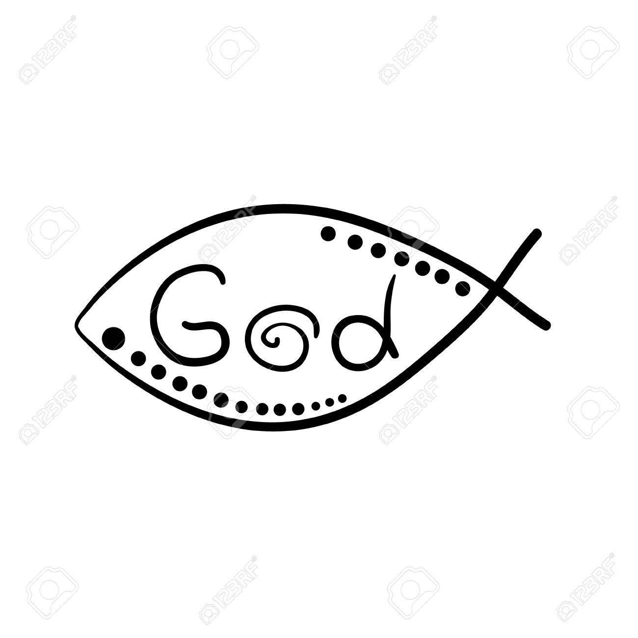 Christian fish symbol with cross vector fish royalty free cliparts christian fish symbol with cross vector fish stock vector 54517002 buycottarizona Gallery