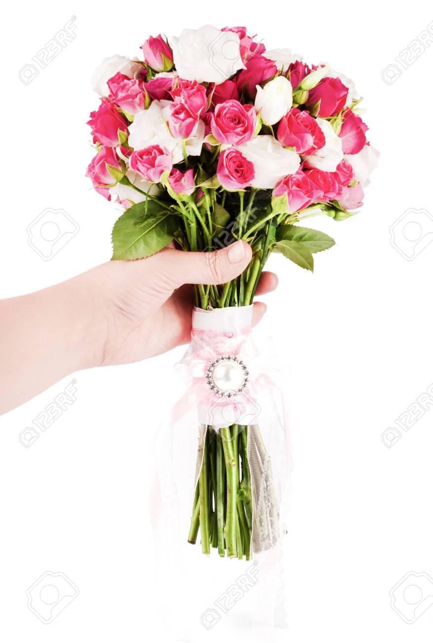 Bridal bouquet of fresh flowers wedding nature flower stock photo bridal bouquet of fresh flowers wedding nature flower stock photo 94730025 izmirmasajfo