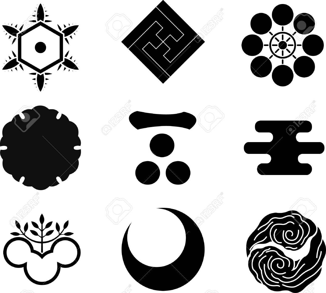 Japanese family crests royalty free cliparts vectors and stock japanese family crests stock vector 10199984 biocorpaavc Gallery
