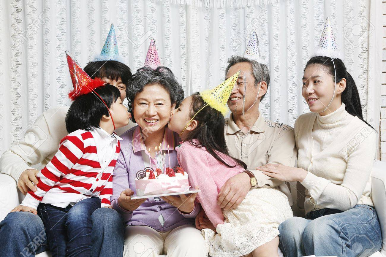Family photo of the month Stock Photo - 10189407