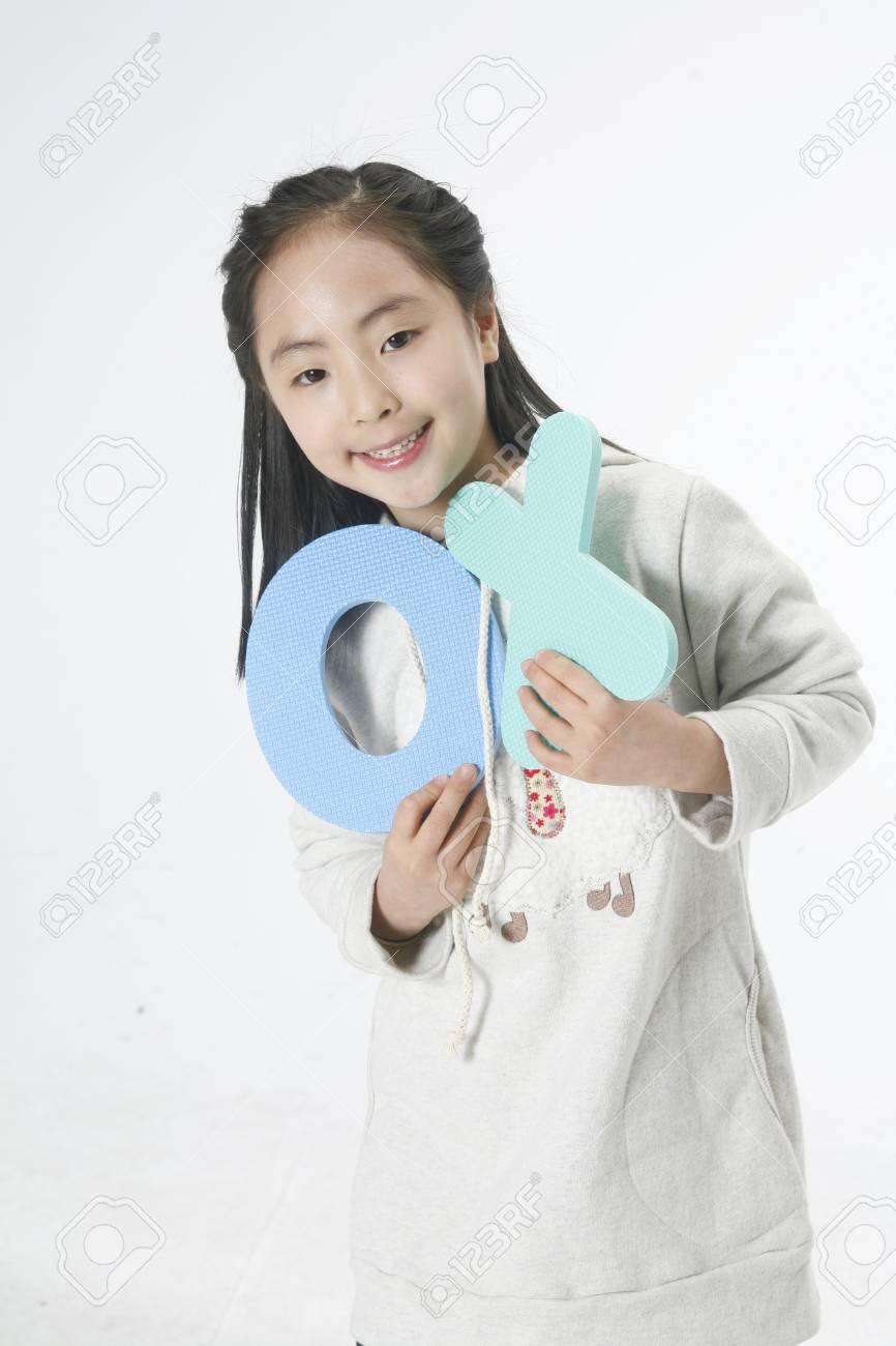 Global childrean's photo image Stock Photo - 10189473