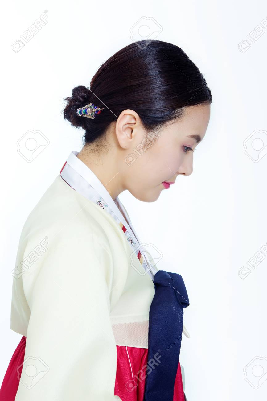 Korean traditional costumes in Holidays Stock Photo - 10211397