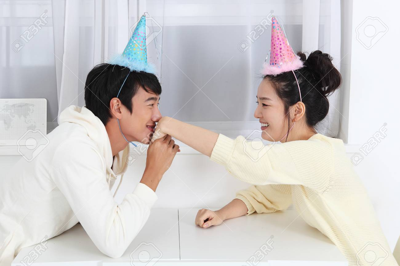 Newly wed couple's photo of the month Stock Photo - 10231168