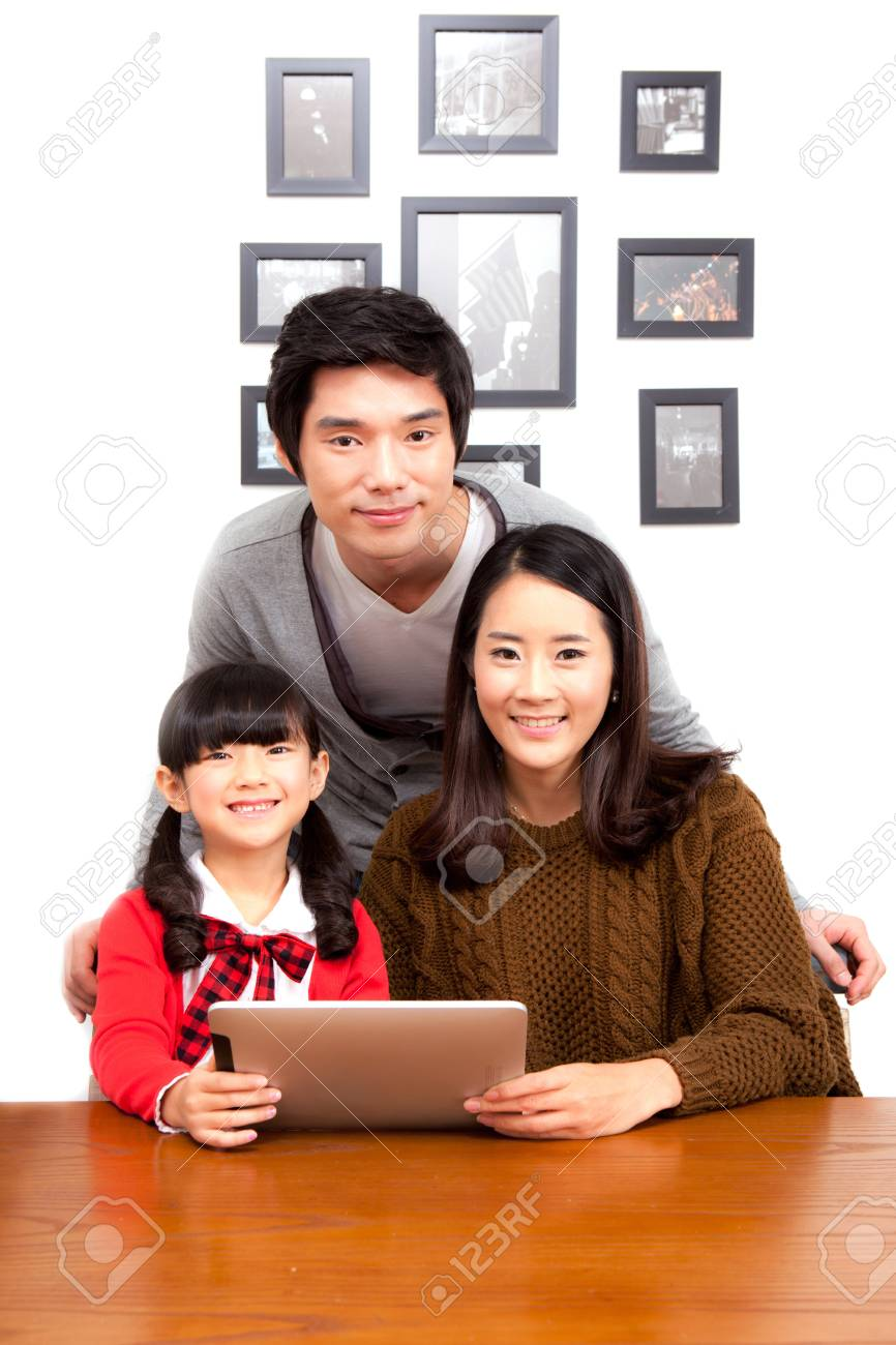 family portrait Stock Photo - 16745097