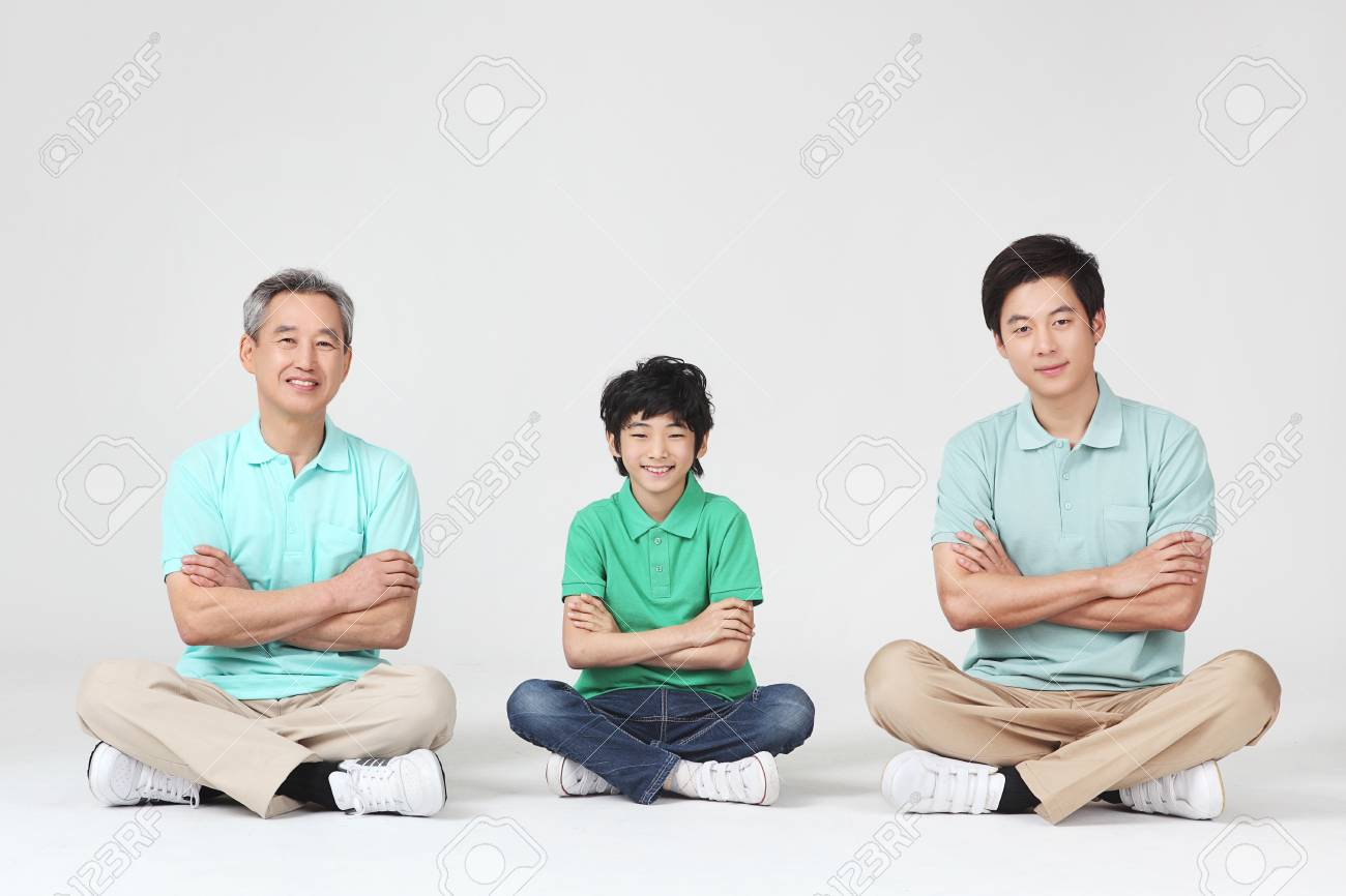 large family portrait Stock Photo - 16745844