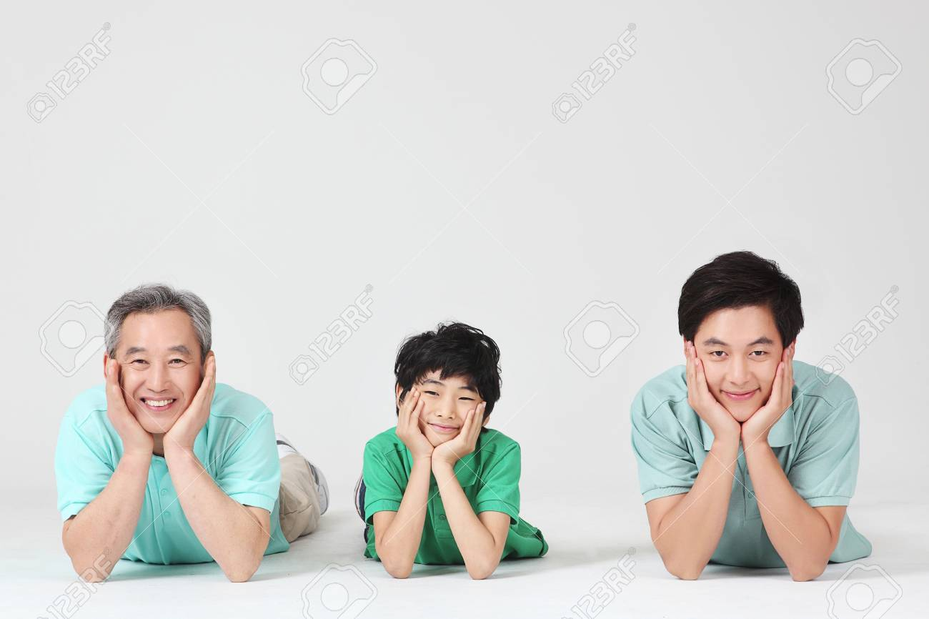 large family portrait Stock Photo - 16745846