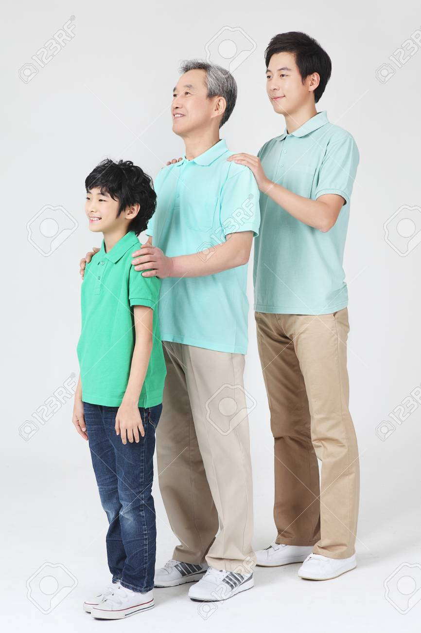 large family portrait Stock Photo - 16745862