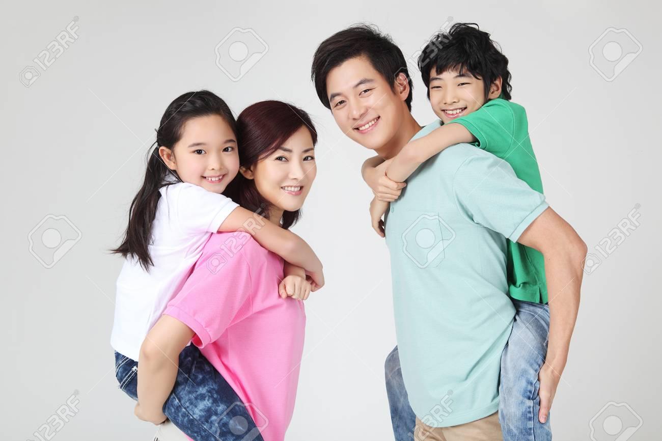 large family portrait Stock Photo - 16745869