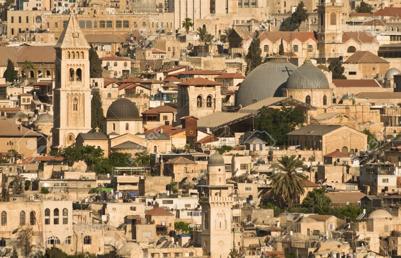 Old Jerusalem Cityscape Stock Photo, Picture And Royalty Free ...