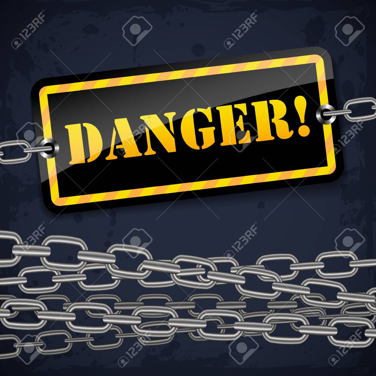 Vector danger warning sign Stock Vector - 17835538