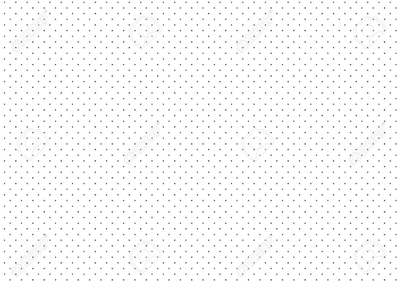 Black Dots White Background Vector Illustration - 53613707