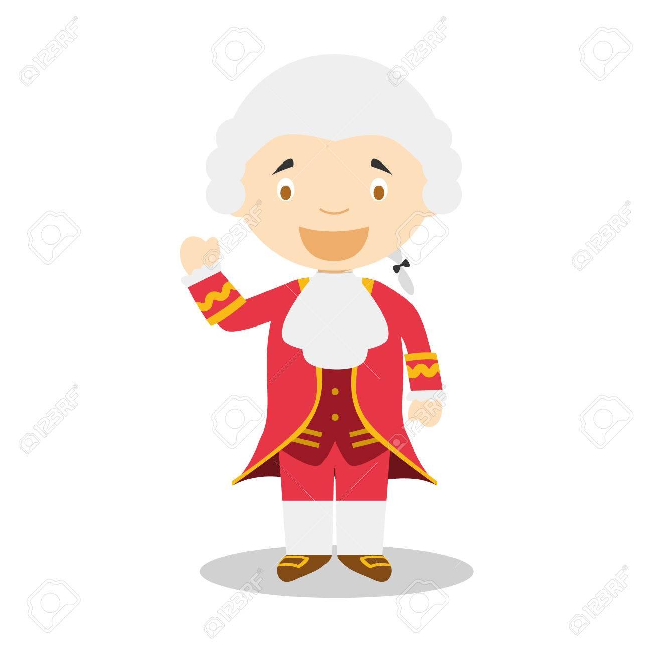 ヴォルフガング アマデウス モーツァルトの漫画のキャラクターの