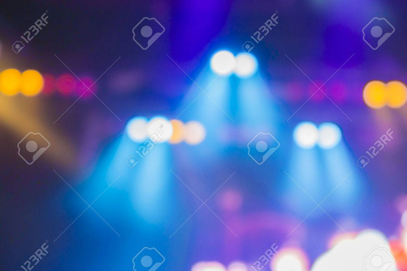 Blurred Background Of Night Bokeh Light,abstract Texture ... for Concert Stage Lights Background  51ane