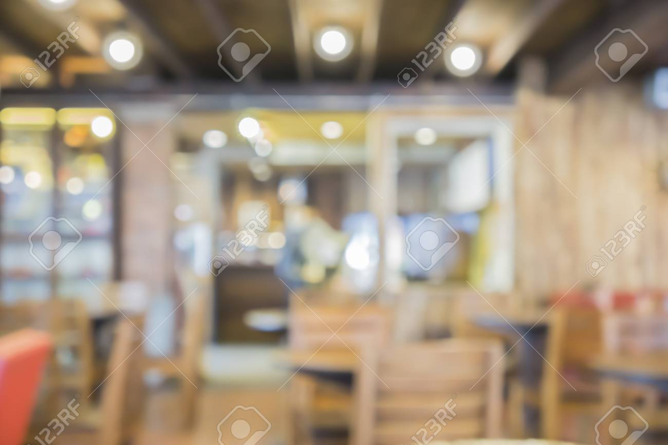 Blur Or Defocus Image Of Coffee Shop Or Cafeteria Customer At Stock Photo Picture And Royalty Free Image Image 56084167