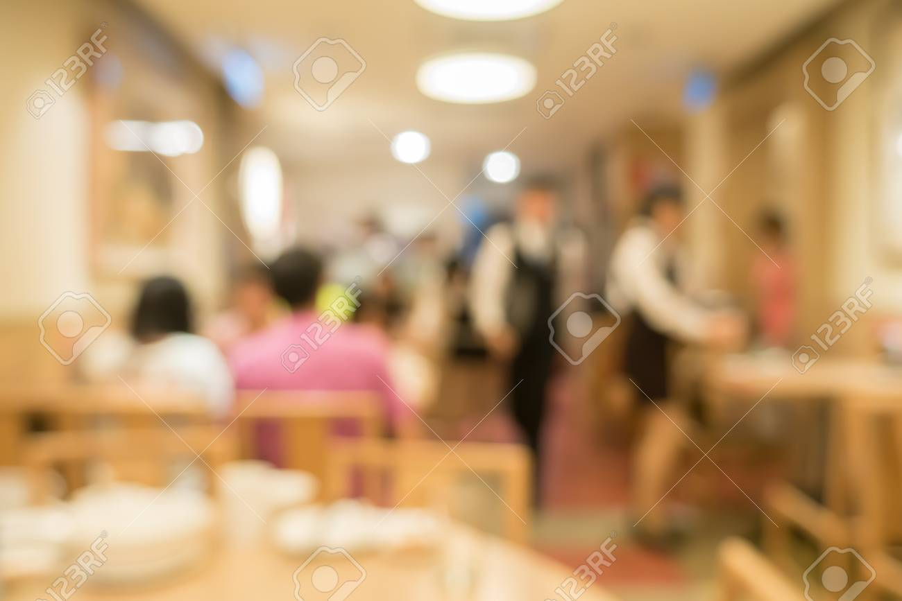 Defocus Image Of Coffee Shop Or Cafeteria Blur Customer At Stock Photo Picture And Royalty Free Image Image 72942925