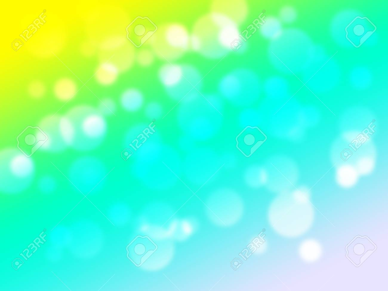 Soft Sweet Blurred Pastel Color Background With Bokeh Abstract Gradient Desktop Wallpaper Stock Photo
