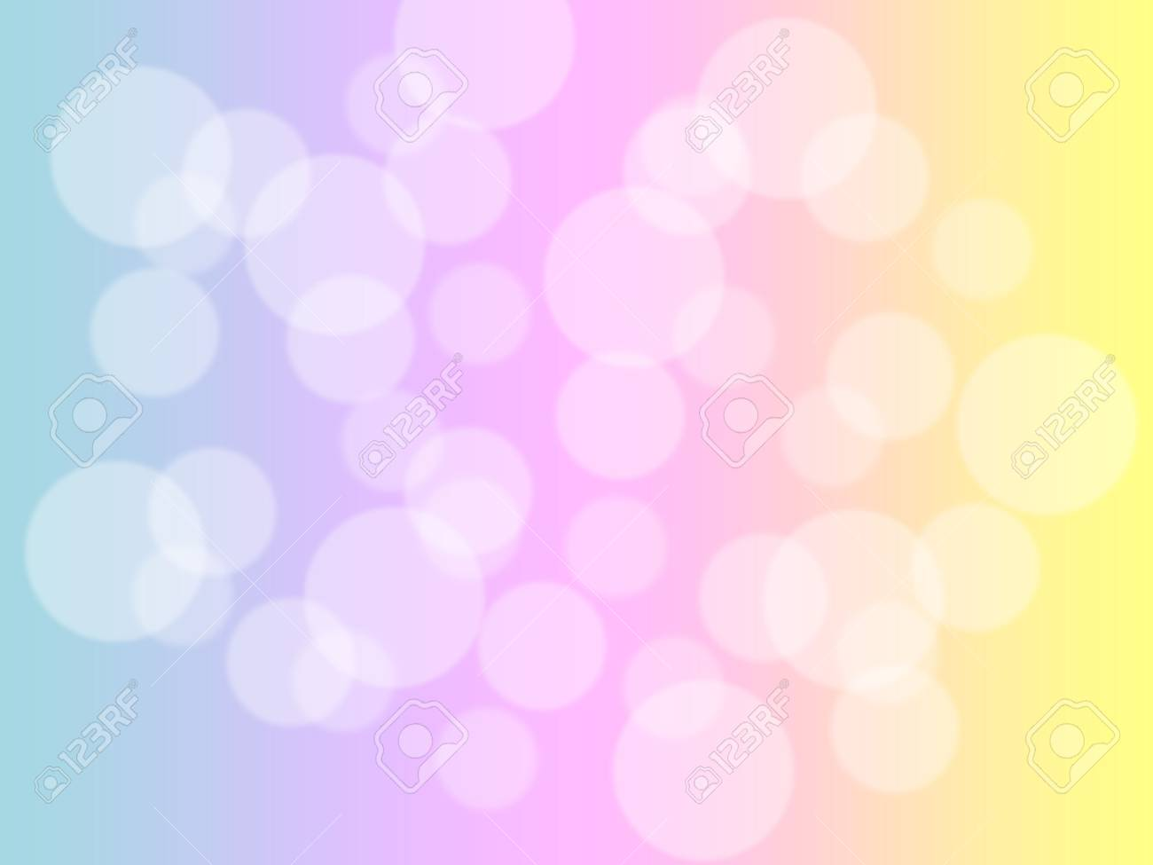 soft sweet blurred pastel color background with bokeh. abstract