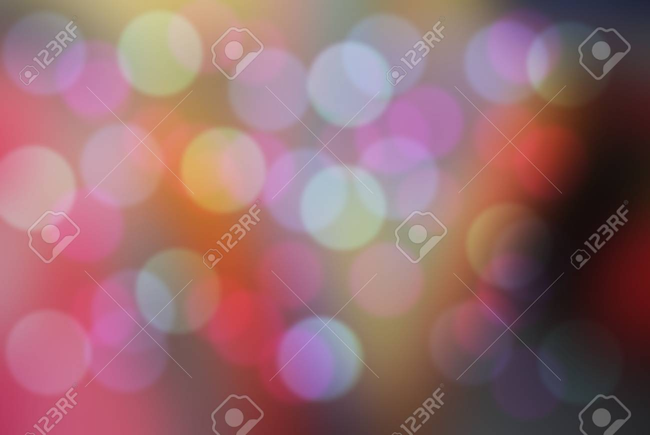 Soft Blurred Colorful Background With Bokeh Abstract Gradient