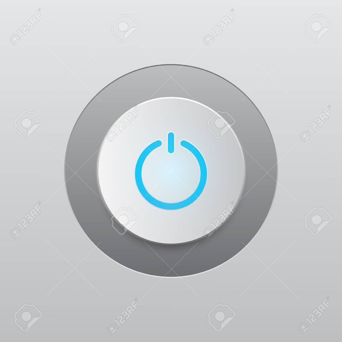 On Off Switch Power Button Vector Illustration Graphic Design ...