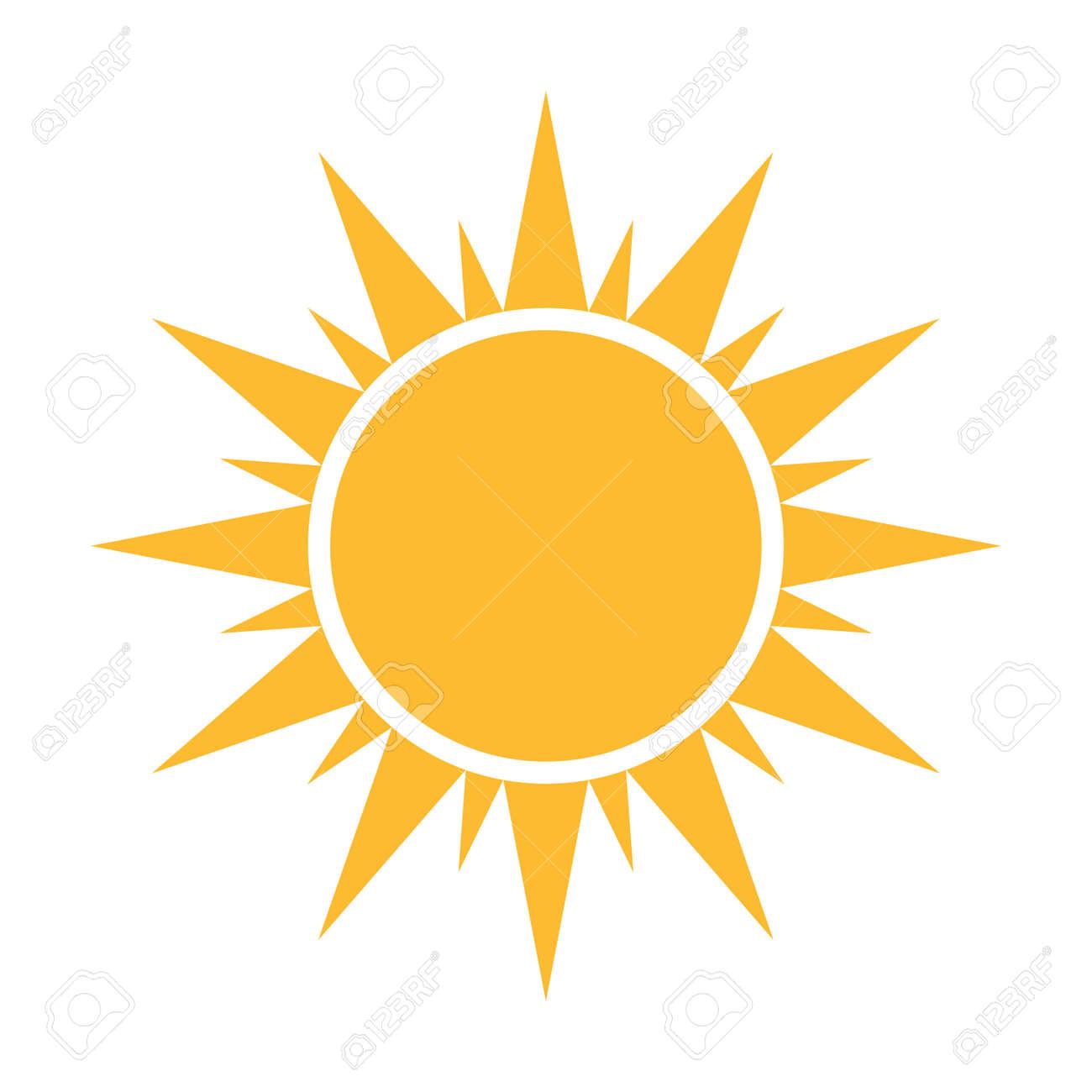 Sun flat icon vector. Summer pictogram. Sunlight symbol. for website design, web button, mobile app illustration - 169916565