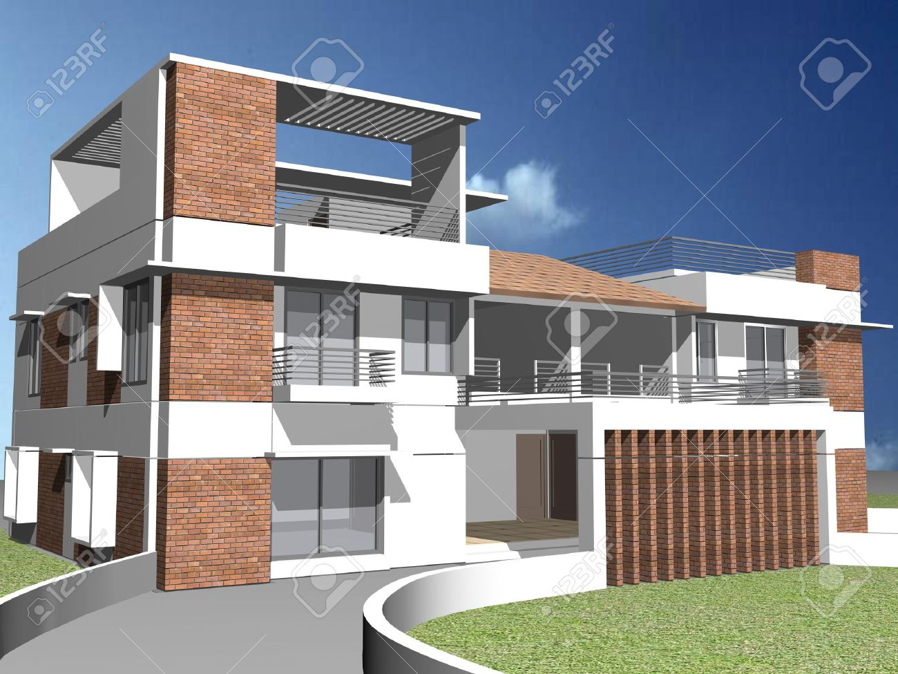 duplex home stock photos royalty free duplex home images and pictures duplex home modern duplex house stock photo