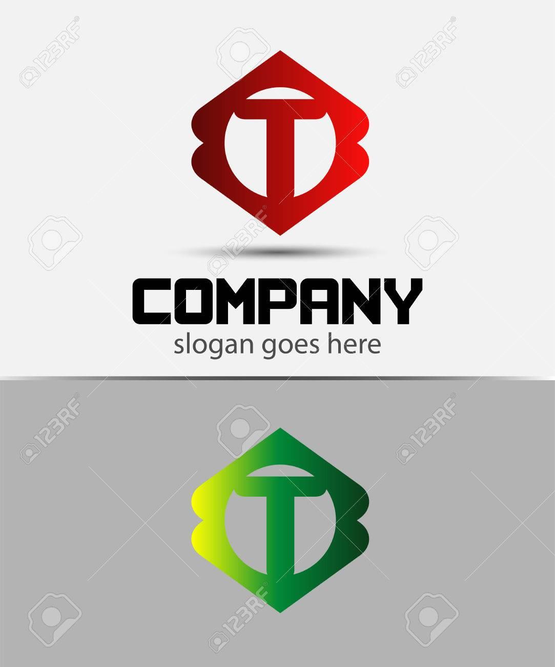 Letter T Logo Designeative Symbol Of Letter T Royalty Free