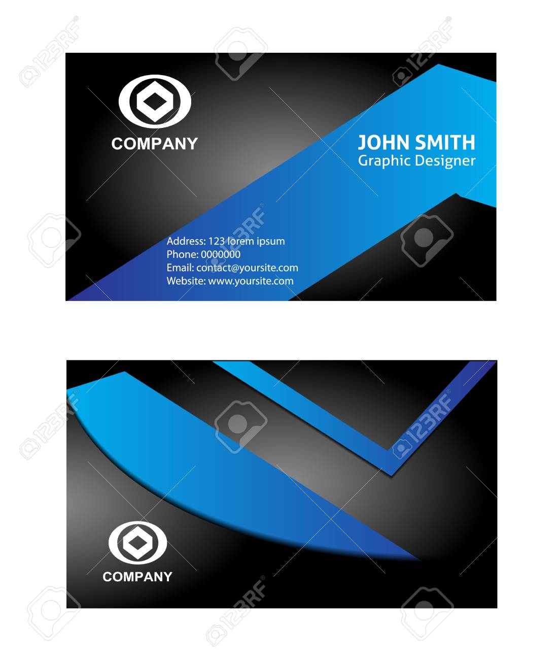 Free vectors for business cards vector and clip art inspiration vector business card royalty free cliparts vectors and stock rh 123rf com free vector architecture business reheart Image collections