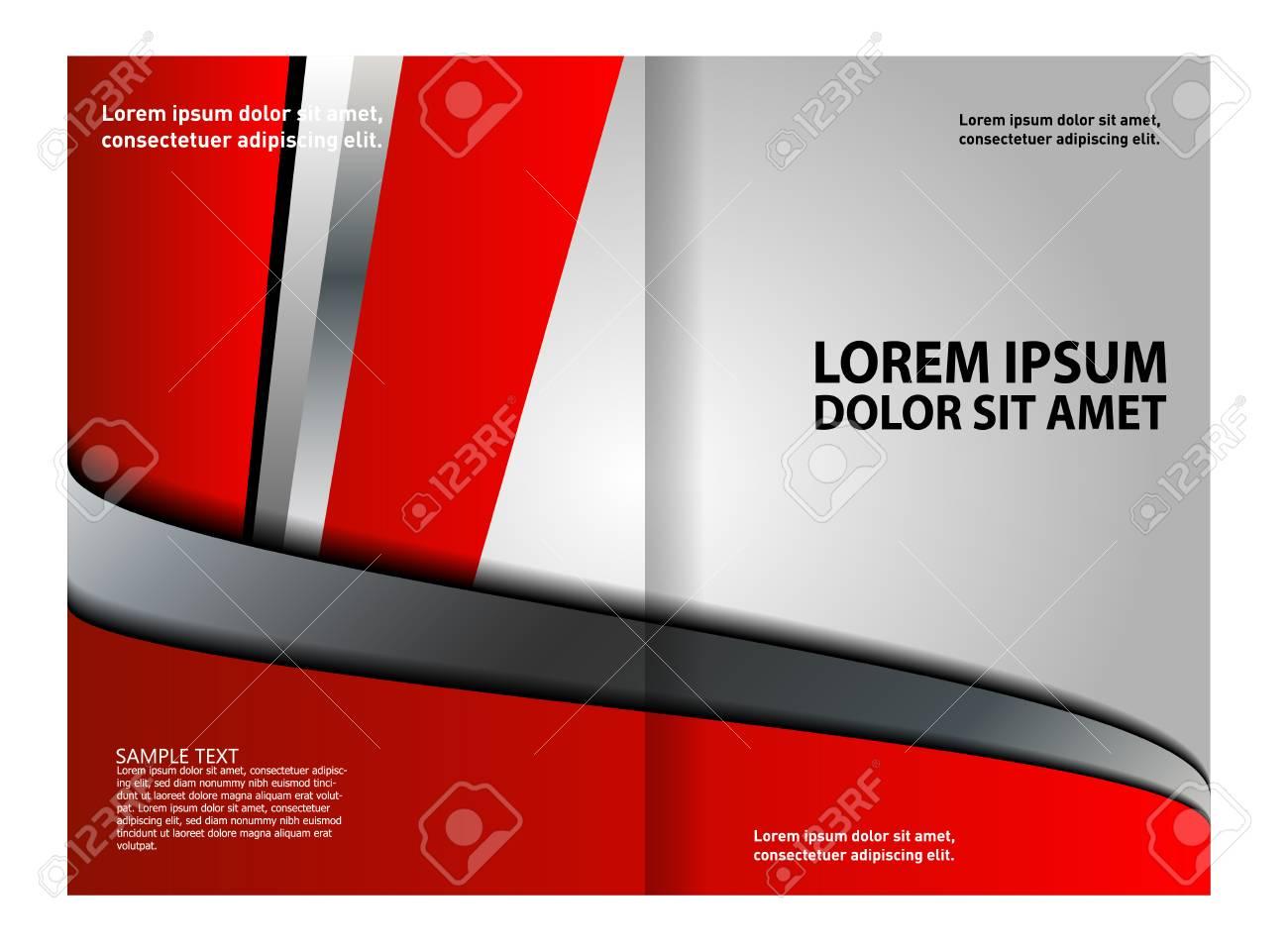Bi Fold Brochure Design Stock Vector   56602055