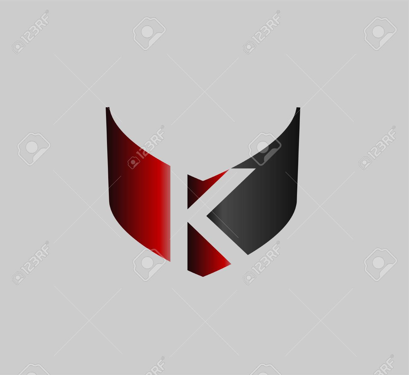 letter k logo icons design template elements royalty free cliparts