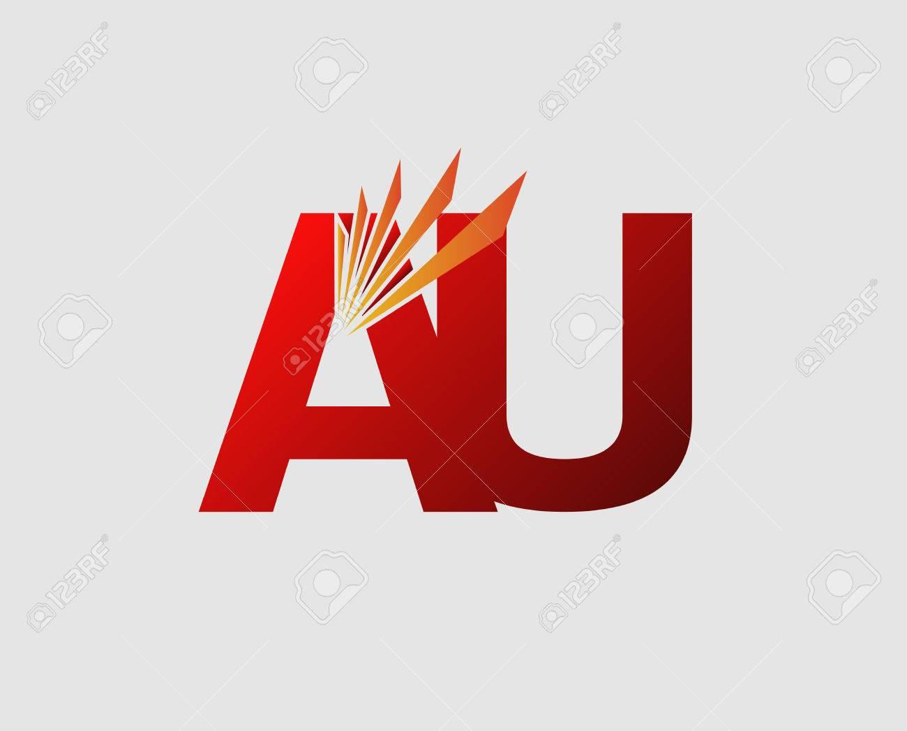 Au の手紙のイラスト素材ベクタ Image 60011670