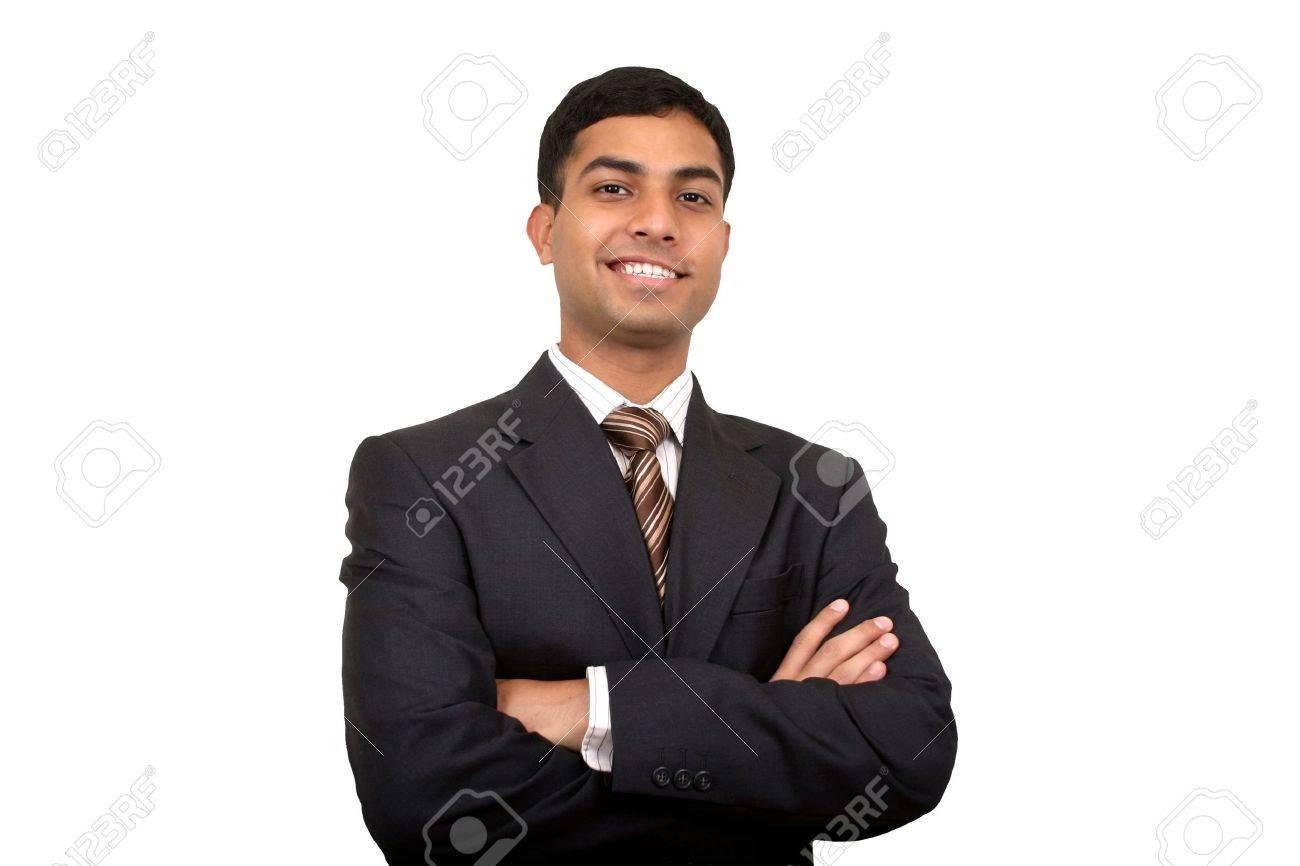 Indian businessman smiling Stock Photo - 2017905