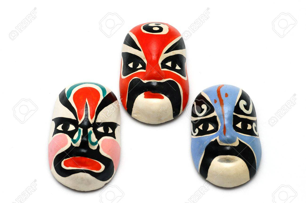 Chinese traditional culture Opera facial masks Stock Photo - 5251173