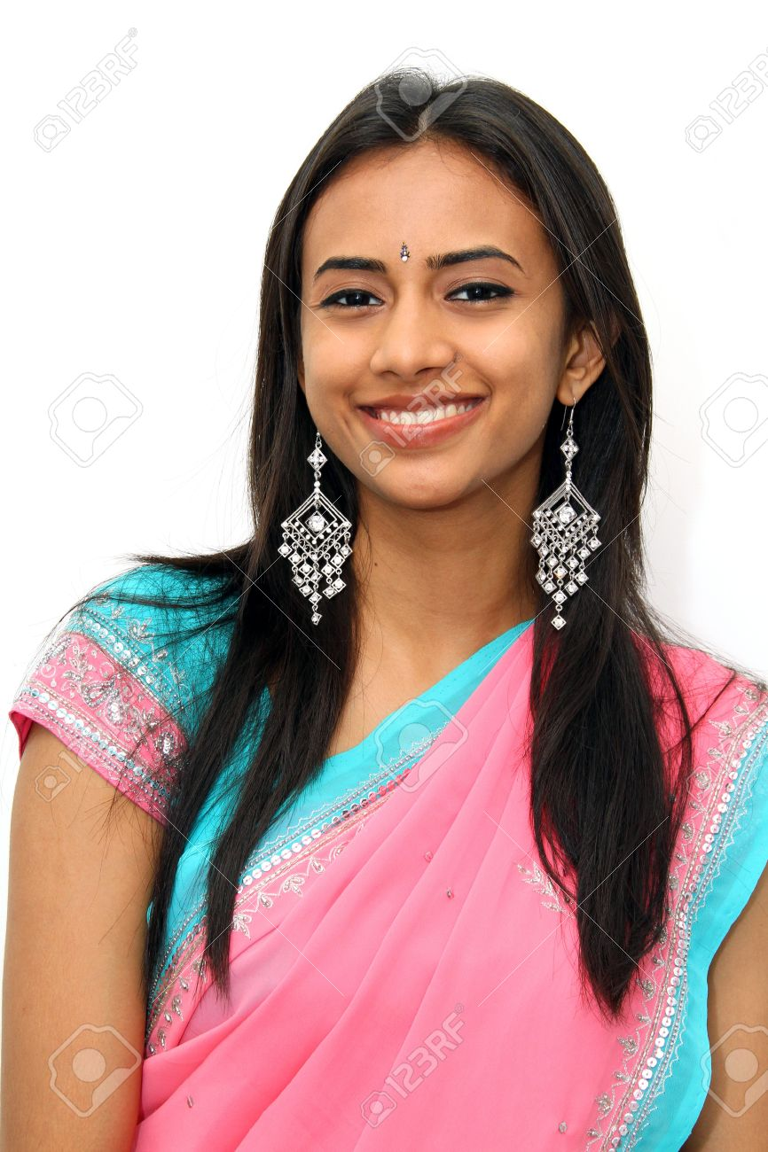 Young Indian girl in traditional clothing. Stock Photo - 8131901