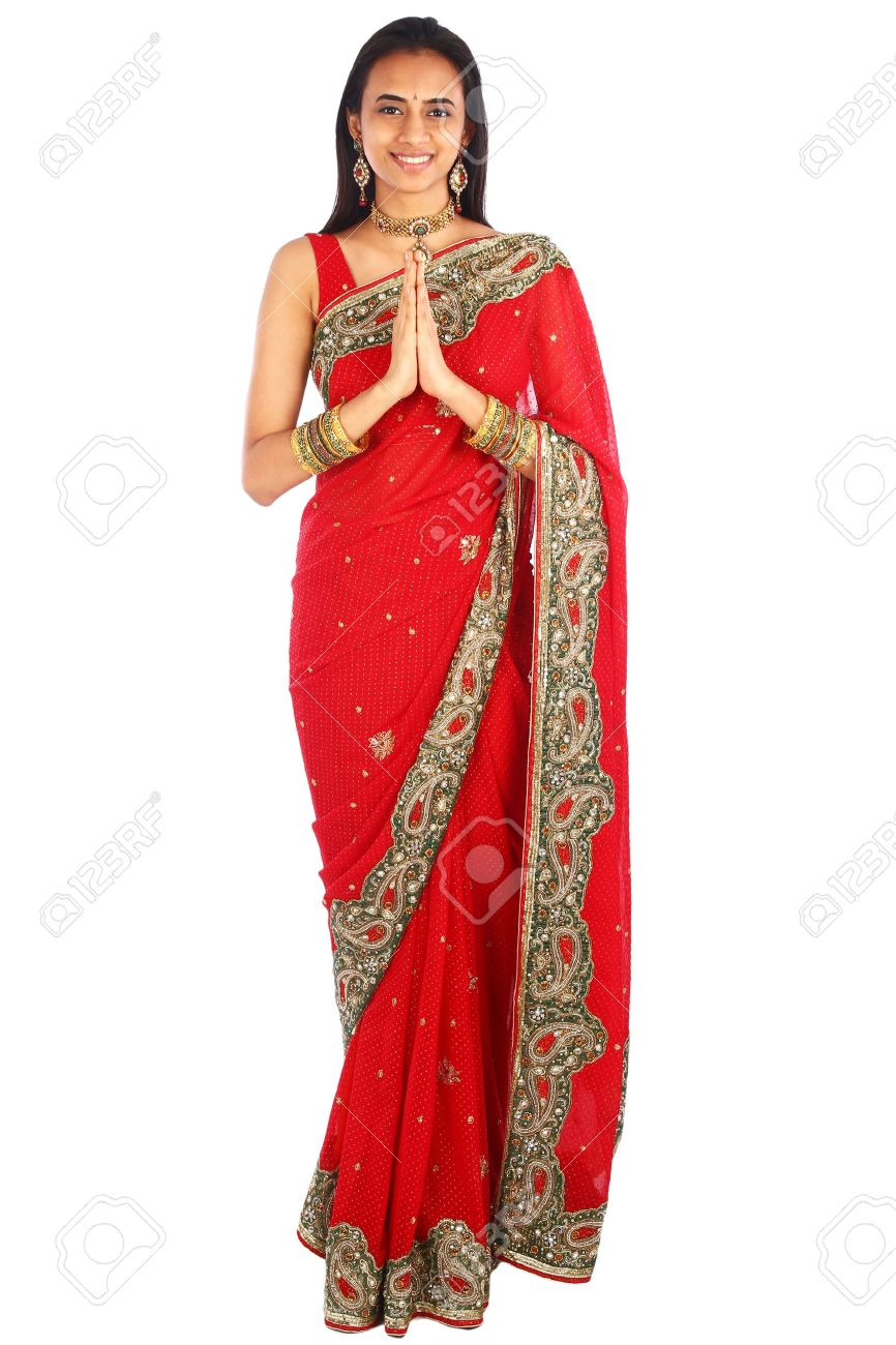 Young Indian girl in traditional clothing. Stock Photo - 12232529