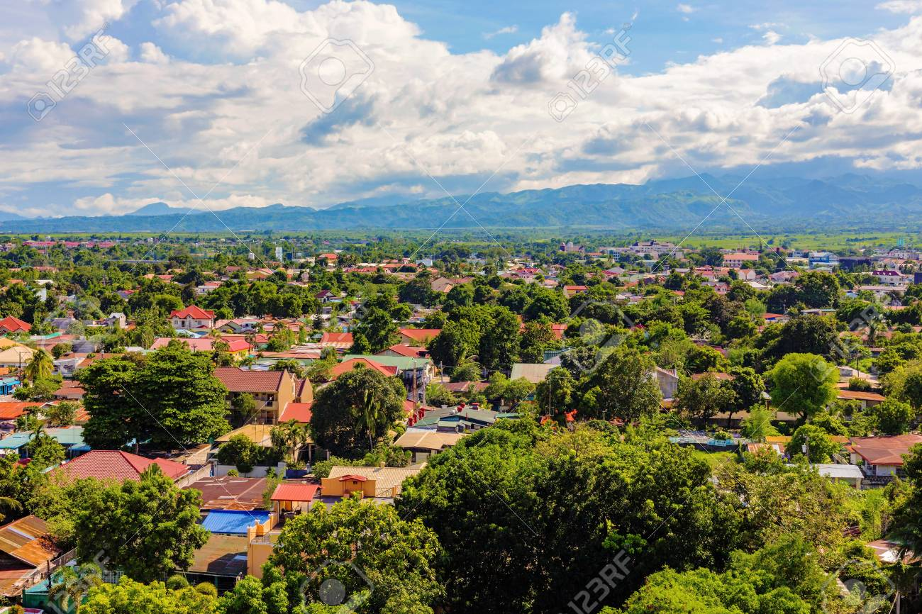 Residential area in Clark economic Angeles city in the Philippines - 59244366