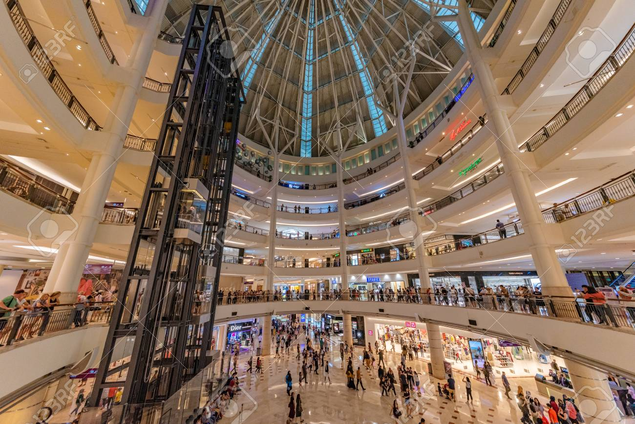 Kuala Lumpur Malaysia July 21 Interior Of Suria Klcc Shopping Stock Photo Picture And Royalty Free Image Image 111646719