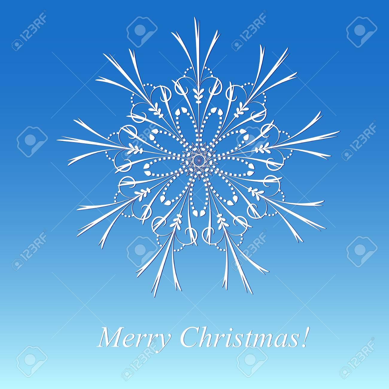 Christmas snowflake Stock Photo - 15683497