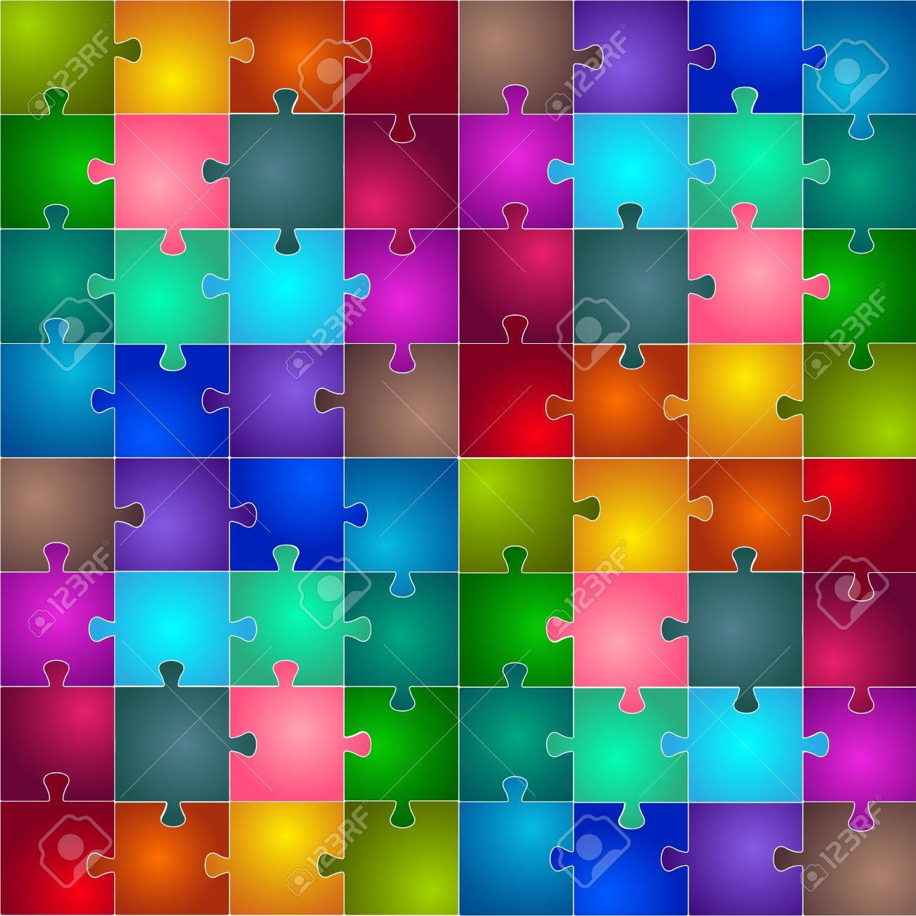 Puzzle Stock Vector - 15975418